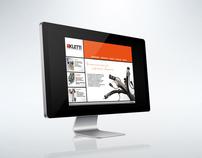 KLETTI  Website