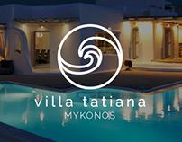 Villa Tatiana (website+logo concept)