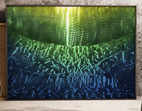 "Beneath The Waves 2 - 36"" x 24"""