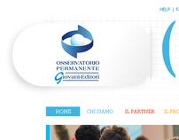 Web Docenti website proposal - 2010