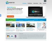Monetize Digital - Mockup design