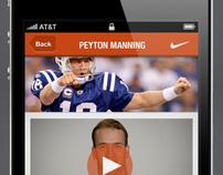 Nike iPhone app