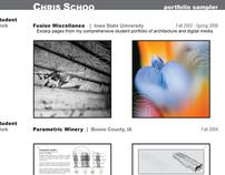 Architecture Portfolio Samples