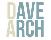 Dave Arch website & Branding