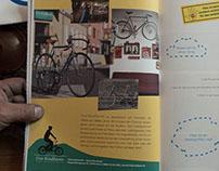 «Die Radlerei» Werbung im  a-mag, 2014