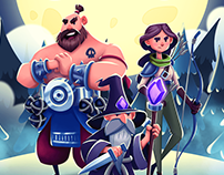 Loading Screens for Spell Heroes game