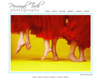 Personal Tuch Photography Website