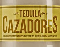 Tequila Cazadores Redesign Concept