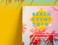 hmshost | beachevent, concept, design & realisation