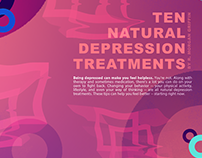 Depression Editorial Design & Layout
