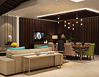 Drawing Room With Living Room Design