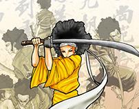 Afro Samourai Girl