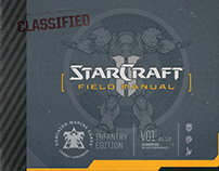 StarCraft Field Manual: Book Layout/Production Design