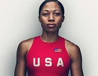 Bridgestone Olympic Athlete Portraits