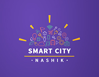 Logo Concept for Smart City Nashik