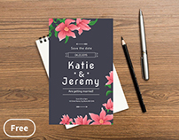 Wedding – free invitation template