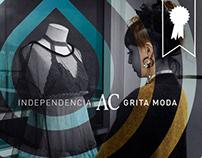 Independencia grita moda · AC