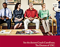 USC Healthcare Ads