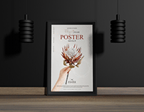 Interior Frame Poster Mockup Free