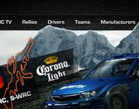 [WRC] World Rally Championship Website