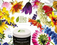 Ilike Organic Skin Care Print Ads