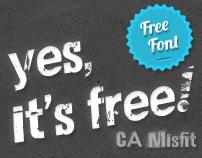 CA Misfit (free font)