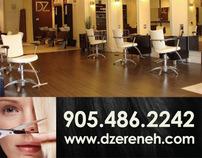 DZ Hair Creative Hair Team Magazine Ad