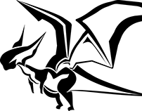 FFXIV Midgardsormr (Minion) Silhouette