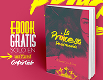LA PRINCESA DESAPRENDIDA BOOK COVER DESIGN