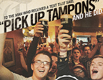 "Tilted Kilt ""Here's to you"" campaign"