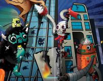 Monsters V.S. Robots