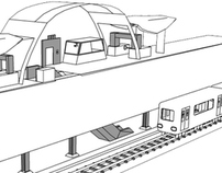 3D Environment - Train Station