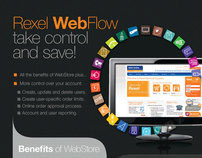 Rexel WebFlow Advertisement - Accom Magazine