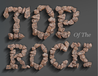 Handmade font.