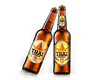 Thai Pa Beer Label Design