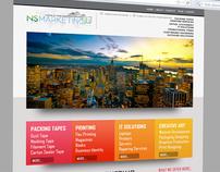 NS Marketing website