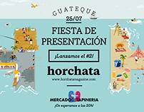 Guateque de presentación: Horchata Magazine II
