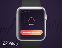 Vitaly - Apple watch app concept