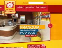 CASA DA EMPADA . WEBSITE
