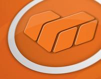 DW Retail logo, huisstijl en website