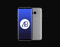 Samsung Galaxy S8 Plus Mockup PSD Vol.2