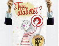 ¿TIENES DIABETES?, Asociación de Diabéticos de Asturias
