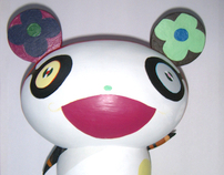 Takashi Murakami, from 2D to 3D.