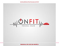 Identidade Visual - ONFIT Personal Online