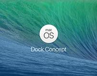 MacOS Dock - Concept