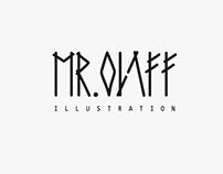 MR. OLAFF ILLUSTRATION