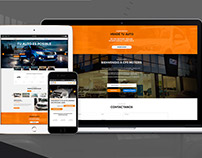 RGH - CP3 Concesionaria - Car Retail - Web Design