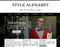 Style Alphabet (Wordpress/ Old Project)
