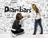 Les Diambars - Rebranding