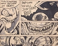 Street Sharks comic